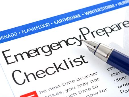 Preparing a Family Emergency Plan