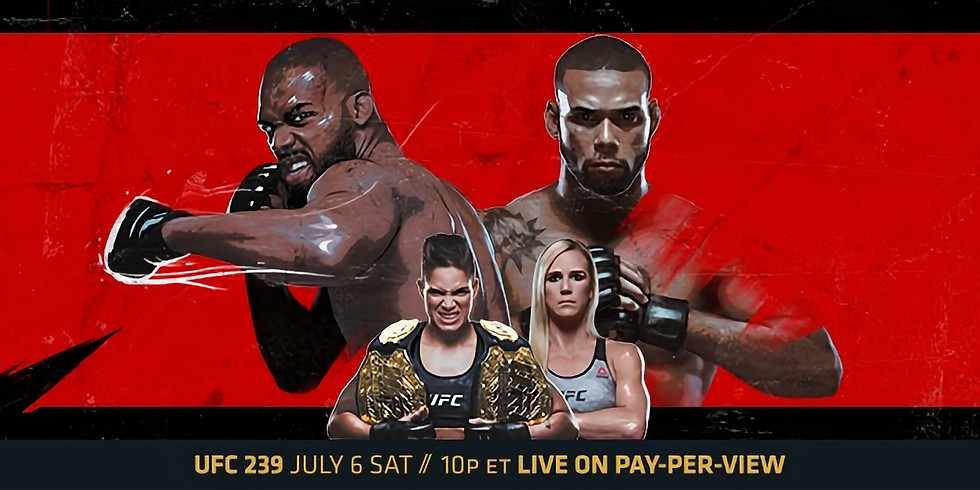 UFC 239 Jones vs Santos & Nunes vs Holm