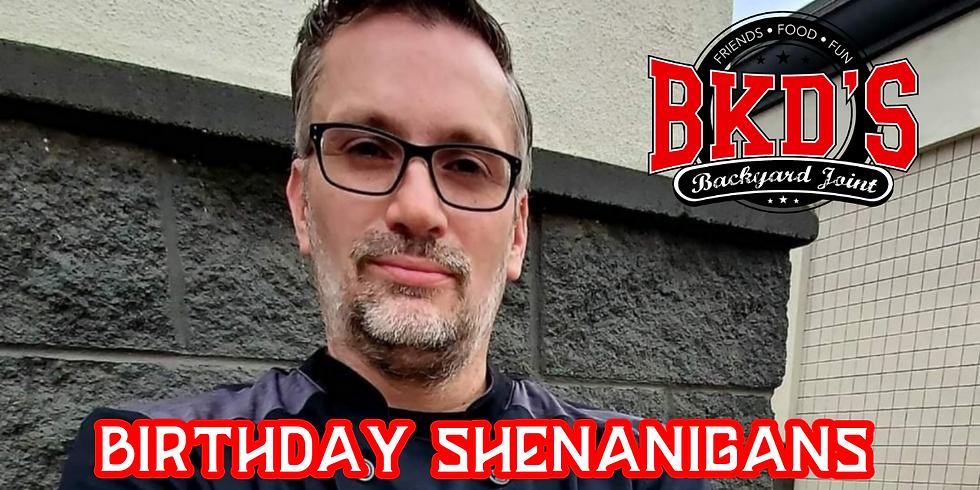 Chef Mark's Birthday Shenanigans
