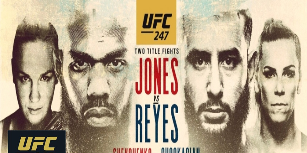 NO COVER UFC 247 Fight Night