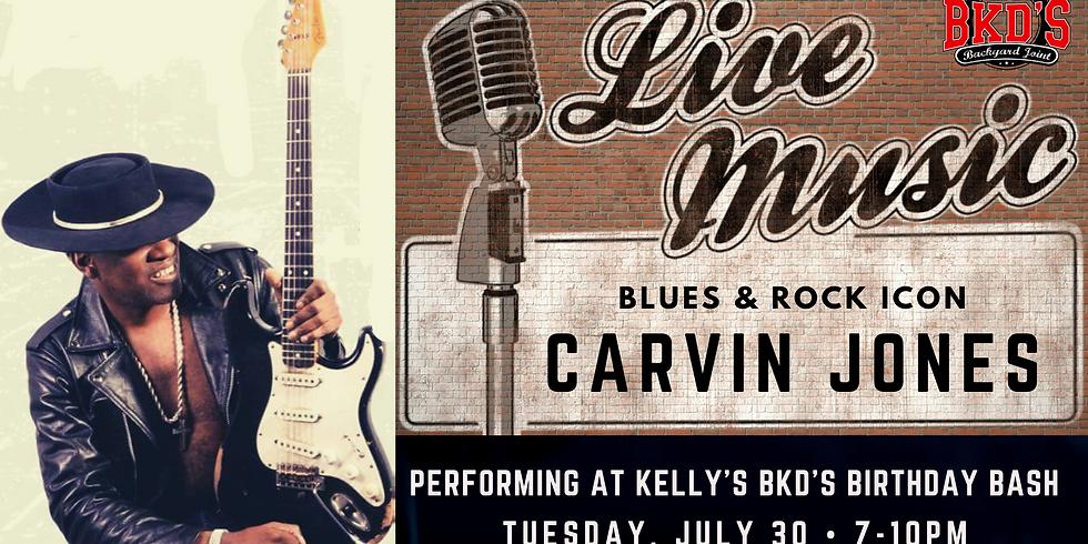 Carvin Jones Live at BKD'S