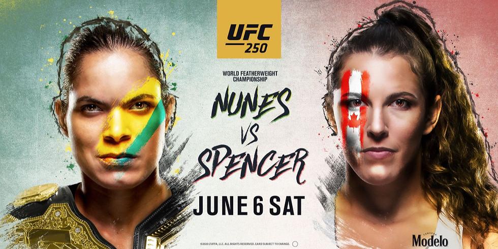UFC 250 No Cover Fight Night