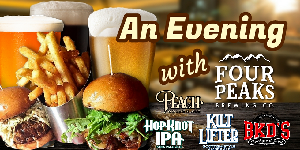 An Evening with Four Peaks Brewing Co.