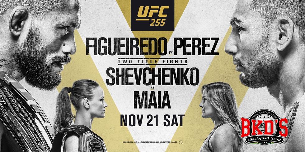 No Cover UFC 255 Fight Night