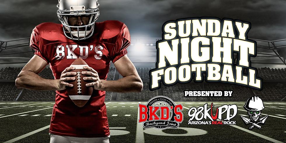 Sunday Night Football w/ 98KUPD & Stone Cold Masonry