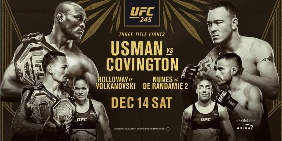 UFC 245 No Cover Fight Night