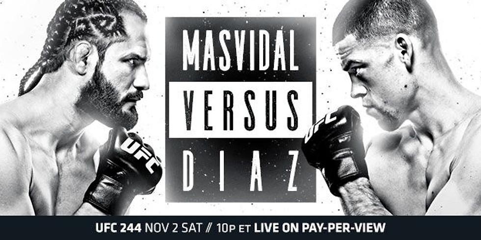 UFC 244 NO COVER Fight Night