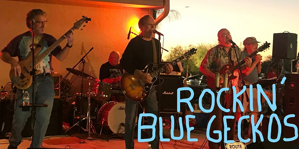 Rockin' Blue Geckos Live at BKD'S