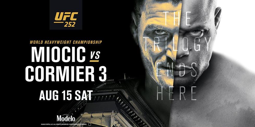 UFC 252 No Cover Fight Night