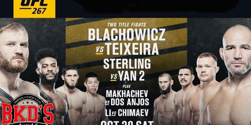UFC 267 No Cover Fight Night