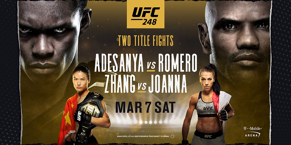NO COVER UFC 248 Fight Night