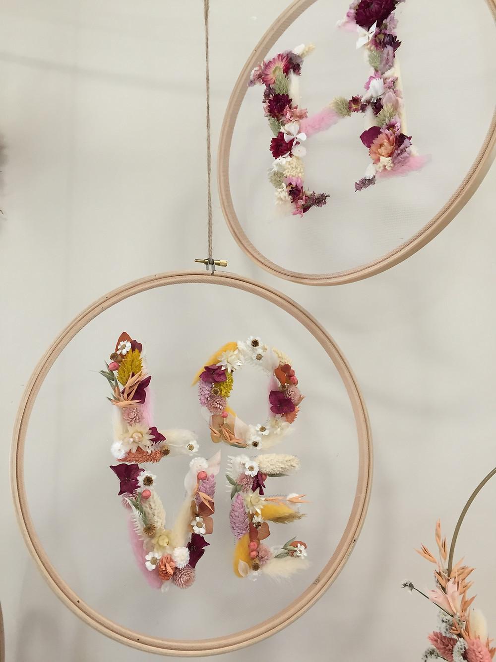 création florale Poppy Figue