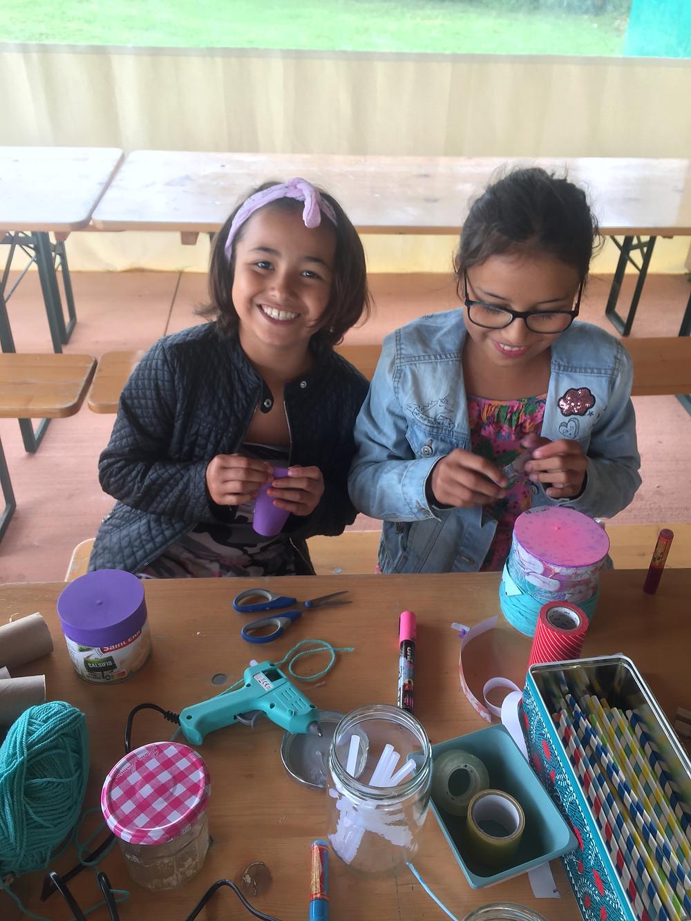 ateliers créatifs au camping les pommiers