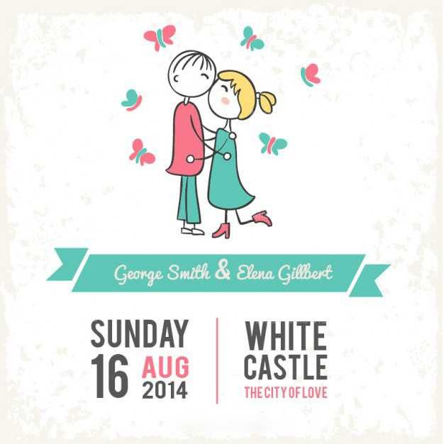 wedding-card-kissing-couple_23-214749344