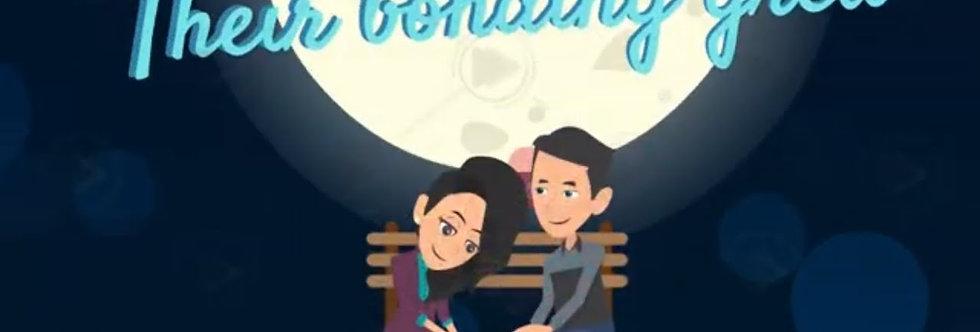 Custom Caricature Cartoon Wedding Invitations |Cartoon Animated Video Wedding In