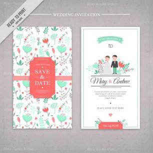 hand-drawn-flowers-cute-wedding-invitati