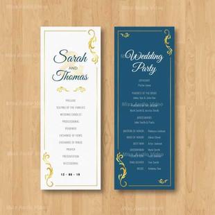 Wedding Progra
