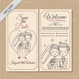 hand-drawn-couple-wedding-invitation_23-