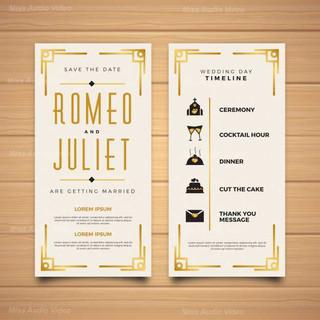 lovely-wedding-program-with-elegant-styl