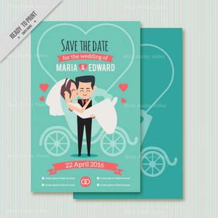 Funny Couple Wedding Card