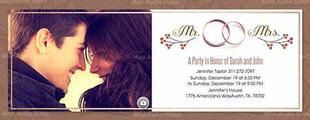 Photo Wedding Invite Temp