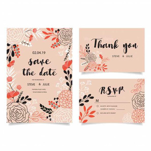 pink-wedding-cards-with-flowers_1195-379