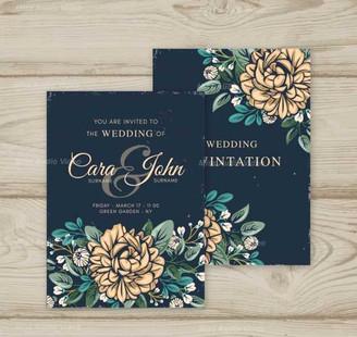 wedding-invitation-in-vintage-style_23-2