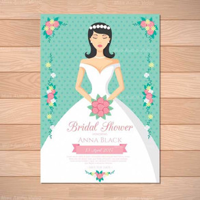 bridal-shower-invitation-with-beautiful-