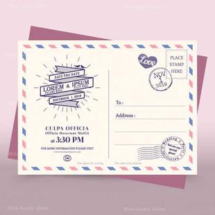 wedding-invitation-with-a-vintage-ribbon