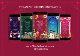 Traditional Indian Invitation