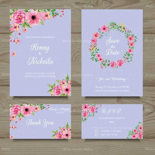 Wedding Cards Collection