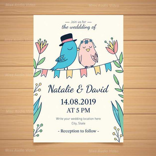 wedding-invitation-with-lovely-birds_23-
