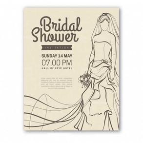 vintage-bridal-shower-invitation-with-br