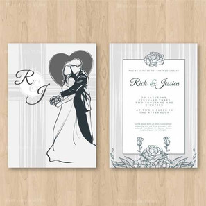 wedding-invitation-with-floral-ornaments
