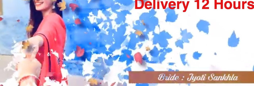 Creative Photo Wedding Invitations | Animated Video Wedding Invitations