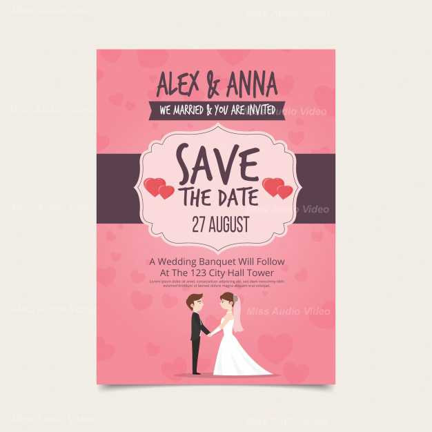 wedding-invitation-with-lovely-couple_23