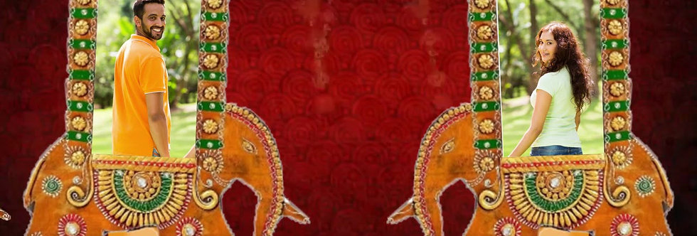 Marwari Wedding Invitation | Rajsthani theme based wedding Animated Invitaions