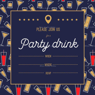 Bachelor Party Drink Invite