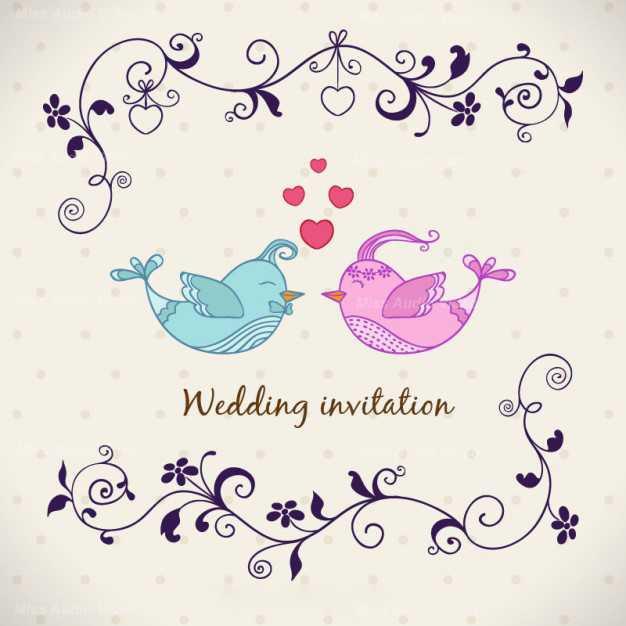 wedding-invitation-with-birds_23-2147504