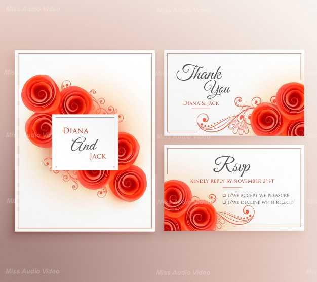 wedding-invitation-set-with-roses_1017-9