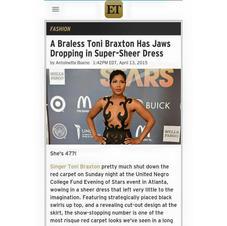 Toni Braxton Featured in ET
