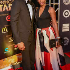Trey Songz and Mother April Tucker