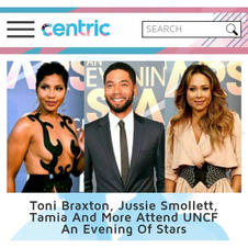 Toni, Jussie, and Tamia Featured in Centric