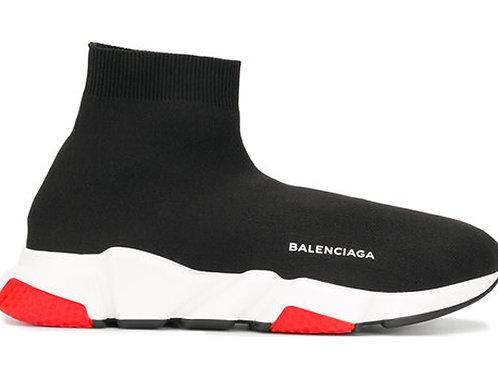 Balenciaga Speed Sock Trainer Black Red