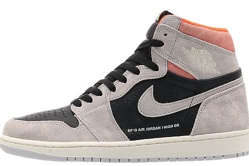 Air Jordan 1 Retro Grey Crimson