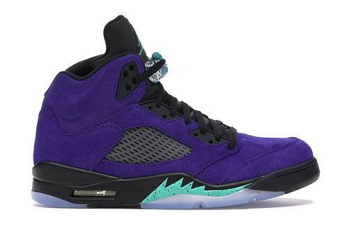 Nike Air Jordan 5 Purple Grape