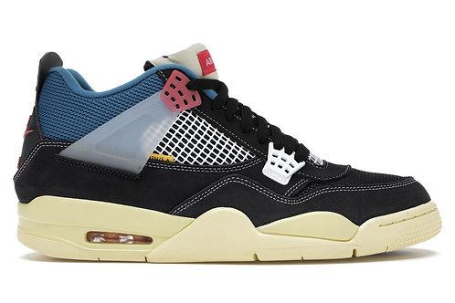 Nike Air Jordan 4 Retro Union Off Noir