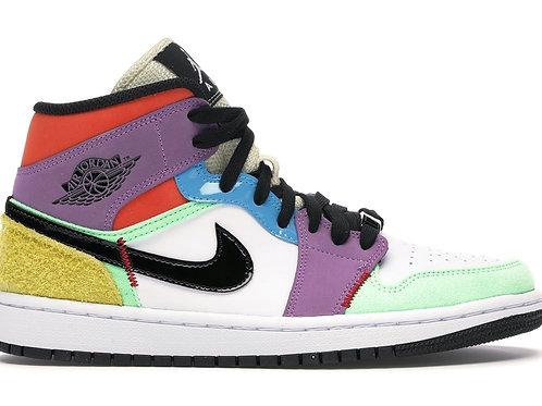 Nike Air Jordan 1  Mid Multi