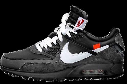 Nike Off-White AirMax 90 'Black'