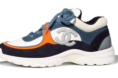 Chanel CC Runner Blue/Orange